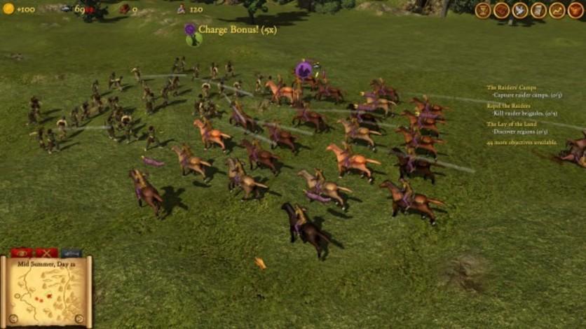 Screenshot 1 - Hegemony Rome: The Rise of Caesar - Mercenaries