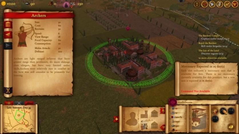 Screenshot 3 - Hegemony Rome: The Rise of Caesar - Mercenaries