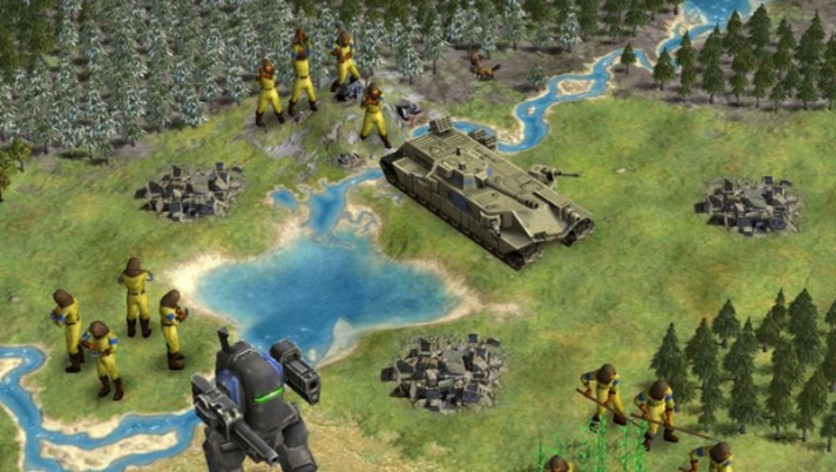 Screenshot 2 - Sid Meier's Civilization IV: Beyond the Sword (MAC)