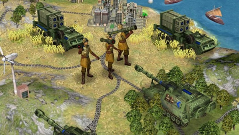 Screenshot 1 - Sid Meier's Civilization IV: Beyond the Sword (MAC)