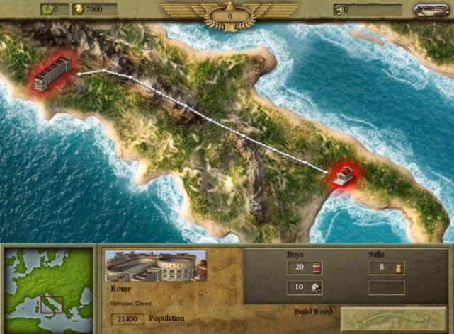 Screenshot 3 - CIVCity Rome