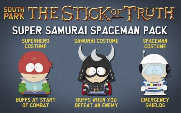 Screenshot 1 - South Park: The Stick of Truth - Super Samurai Spaceman Pack