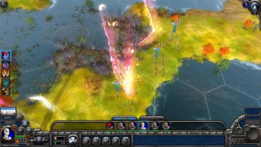 Screenshot 1 - Elven Legacy: Magic