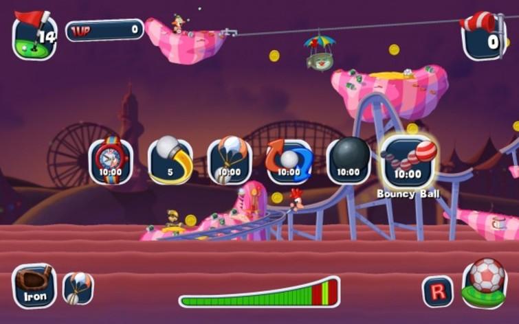 Screenshot 6 - Worms Crazy Golf
