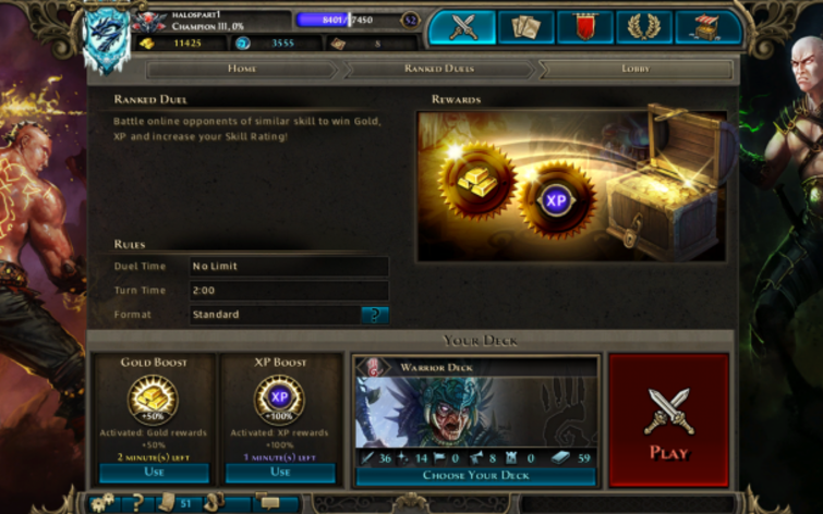 Screenshot 1 - Might & Magic: Duel of Champions - Starter Pack
