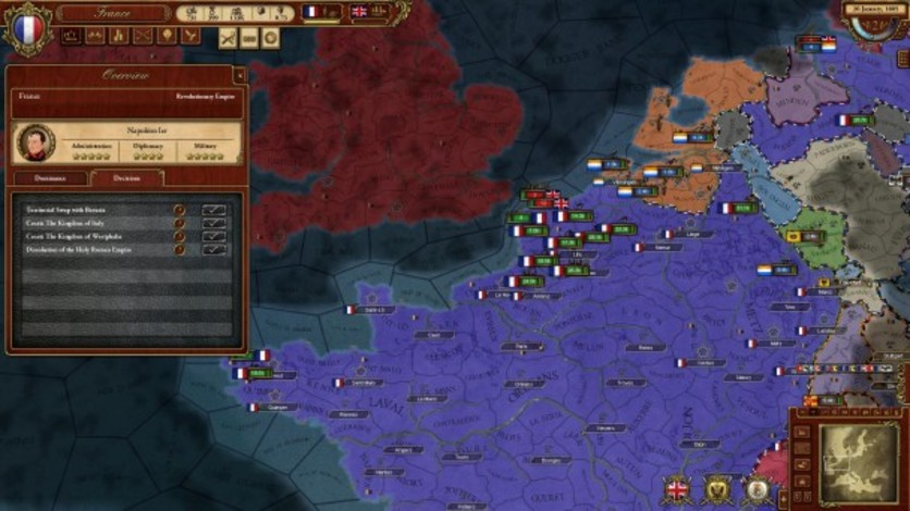 Screenshot 4 - March of the Eagles: French Unit Pack