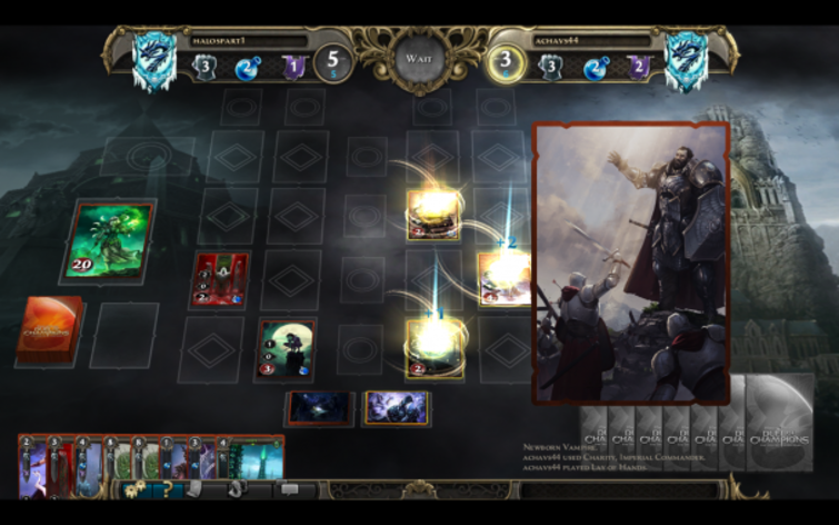 Screenshot 3 - Might & Magic: Duel of Champions - Heart of Nightmare Pack
