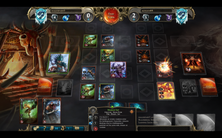 Screenshot 7 - Might & Magic: Duel of Champions - Heart of Nightmare Pack