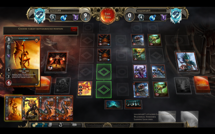 Screenshot 4 - Might & Magic: Duel of Champions - Heart of Nightmare Pack