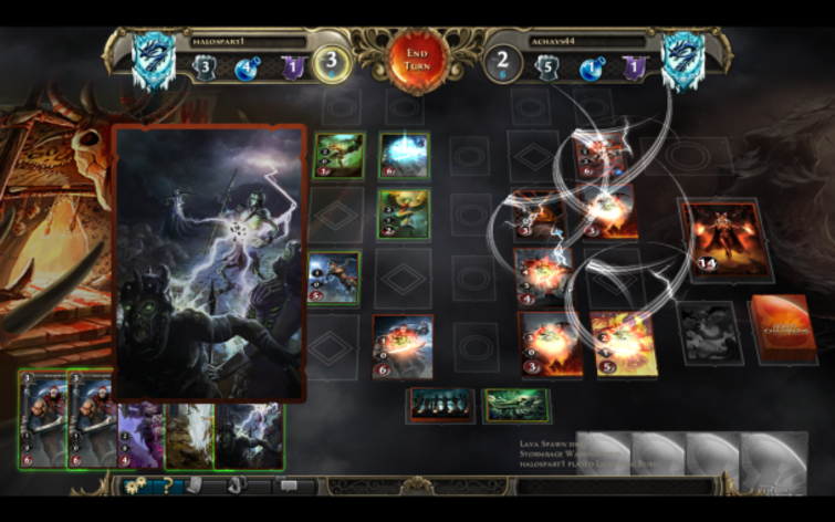Screenshot 1 - Might & Magic: Duel of Champions - Heart of Nightmare Pack
