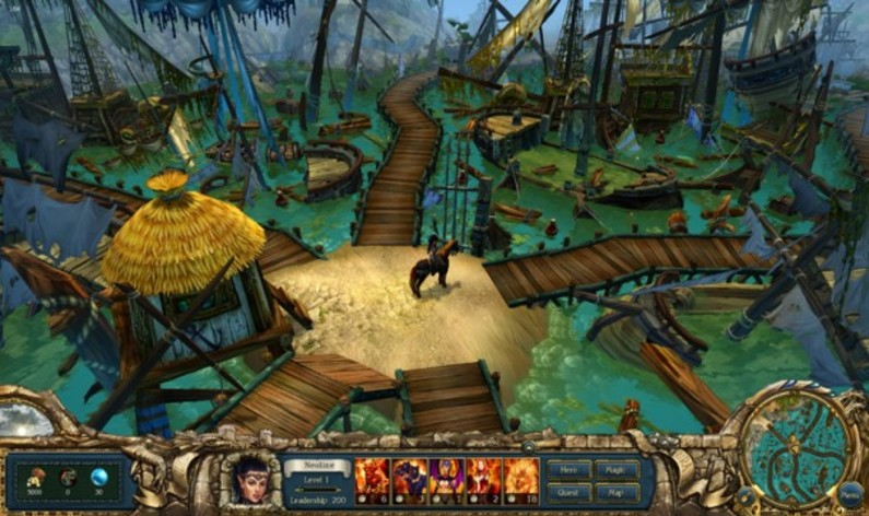 Screenshot 4 - King's Bounty: Dark Side Premium Edition
