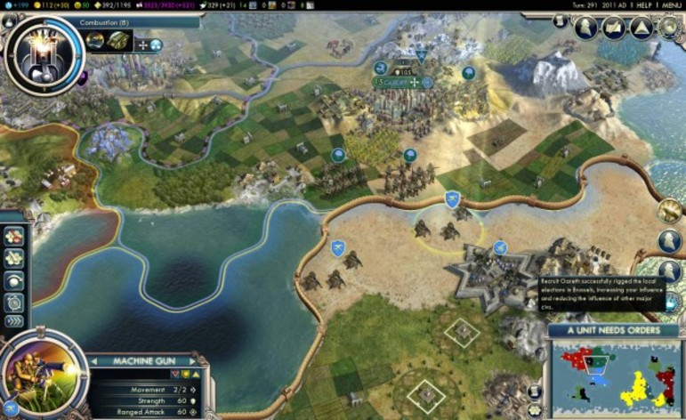 Screenshot 2 - Sid Meier's Civilization V: The Complete Edition