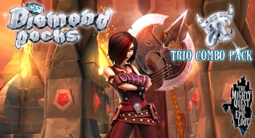 Screenshot 1 - The Mighty Quest for Epic Loot - Trio Combo Pack