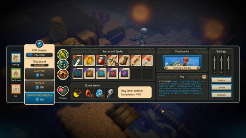 Screenshot 8 - Oceanhorn: Monster of Uncharted Seas