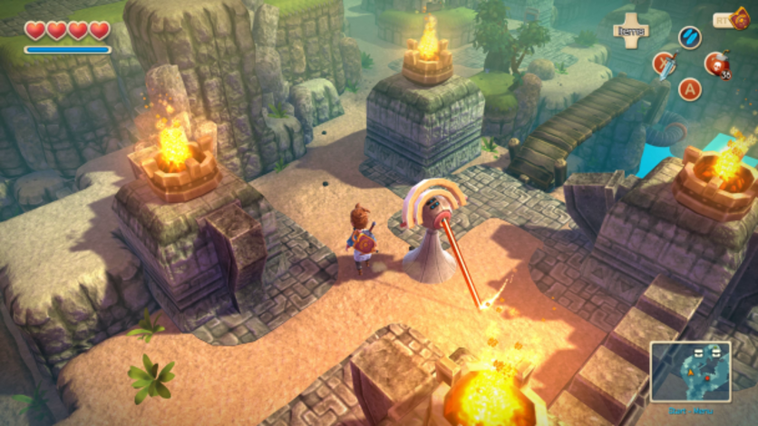 Screenshot 2 - Oceanhorn: Monster of Uncharted Seas
