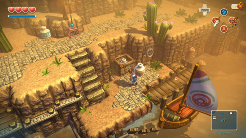 Screenshot 3 - Oceanhorn: Monster of Uncharted Seas