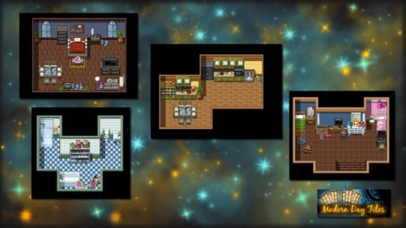 Screenshot 2 - RPG Maker: Modern Day Tiles Resource Pack
