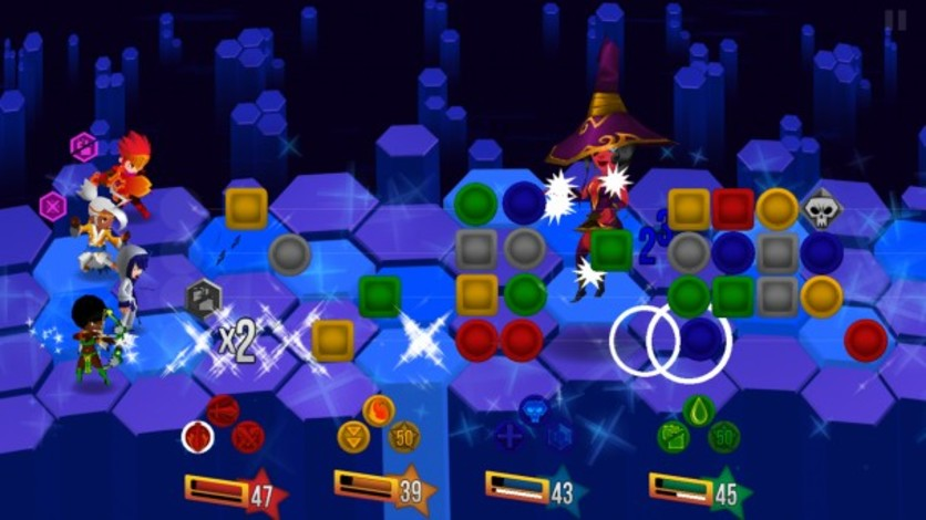 Screenshot 3 - Dungeon Hearts