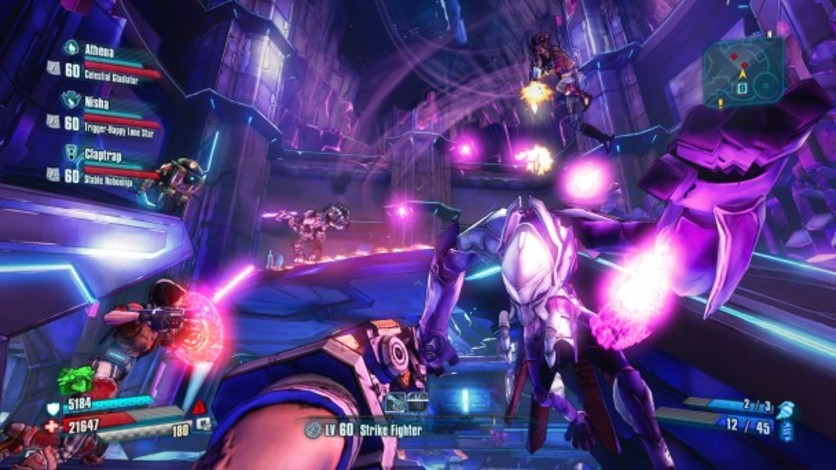 Screenshot 1 - Borderlands: The Pre-Sequel - Ultimate Vault Hunter Upgrade Pack: The Holodome Onslaught (MAC)