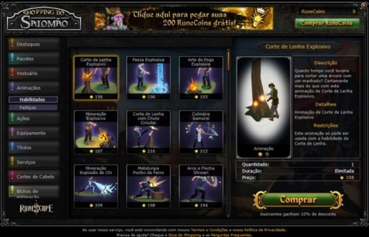 Screenshot 7 - RuneScape - 200 RuneCoins