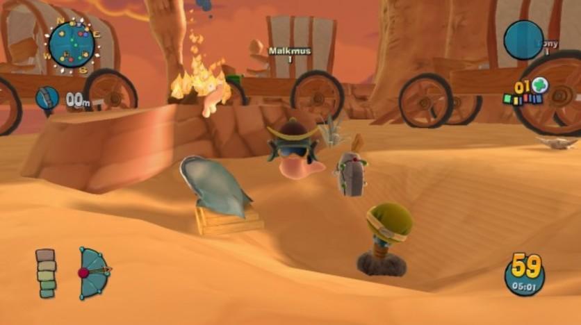 Screenshot 2 - Worms Ultimate Mayhem - Customisation Pack