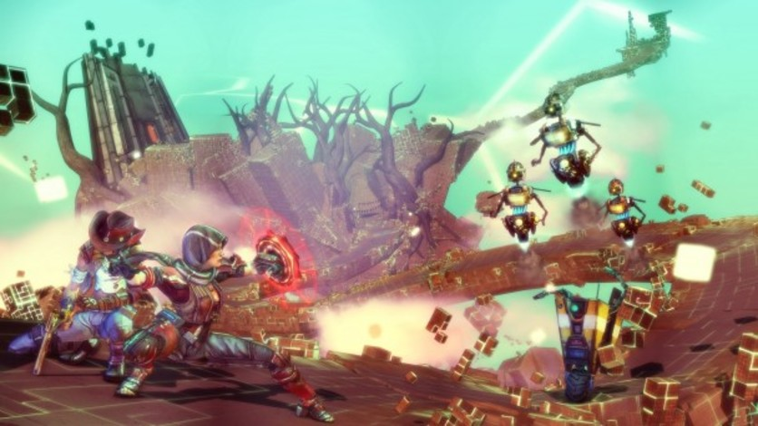 Screenshot 2 - Borderlands: The Pre-Sequel - Claptastic Voyage and Ultimate Vault Hunter Upgrade Pack 2 (MAC)
