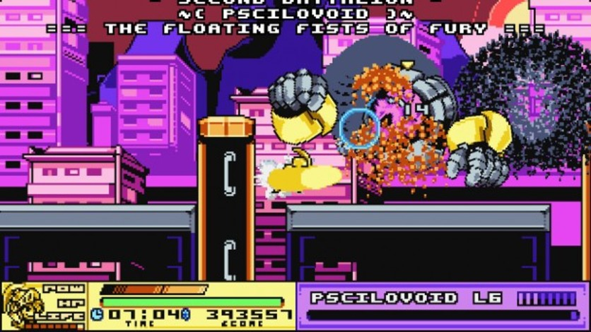 Screenshot 2 - Joylancer: Legendary Motor Knight