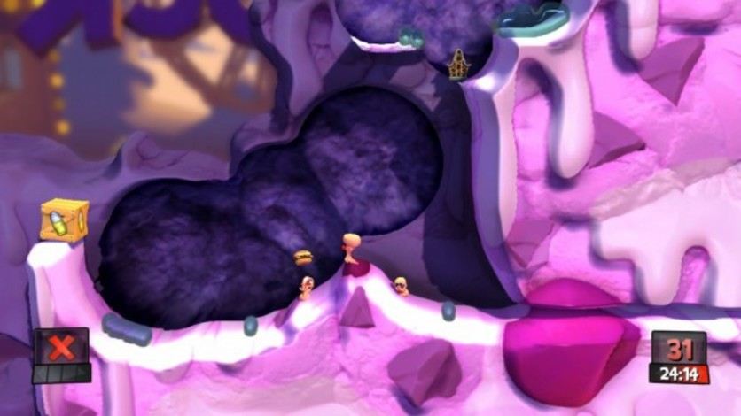 Screenshot 4 - Worms Revolution: Funfair