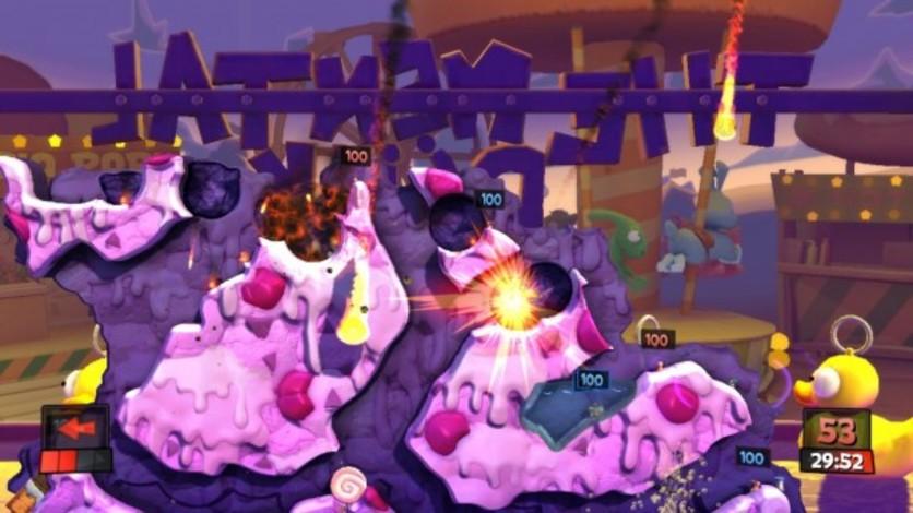 Screenshot 2 - Worms Revolution: Funfair
