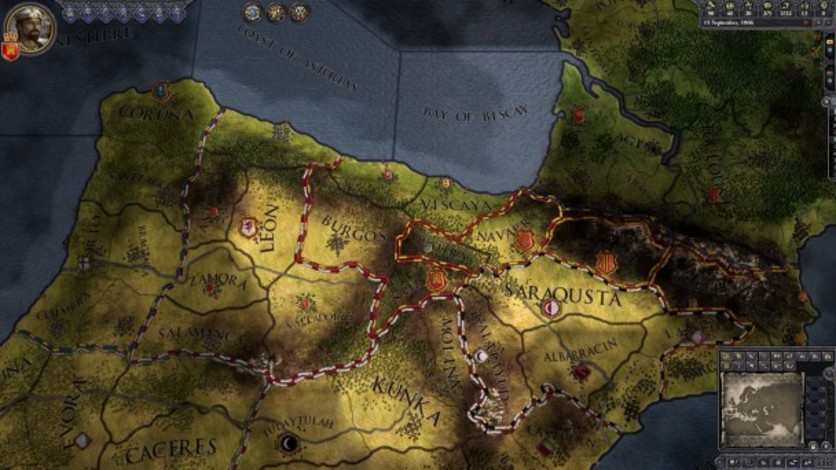 Screenshot 2 - Crusader Kings II: Iberian Portraits