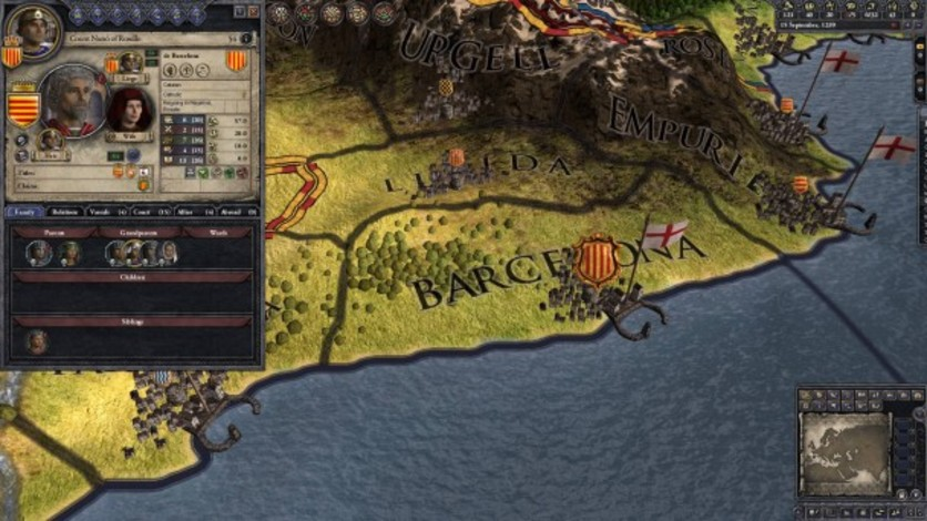 Screenshot 3 - Crusader Kings II: Iberian Portraits