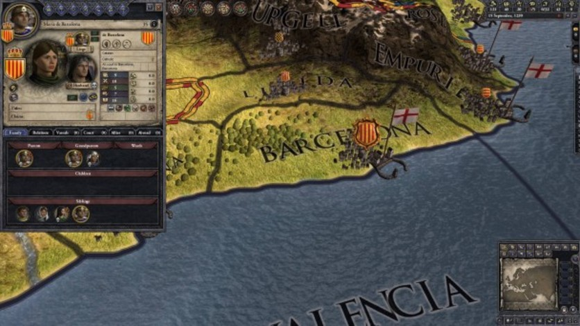 Screenshot 9 - Crusader Kings II: Iberian Portraits