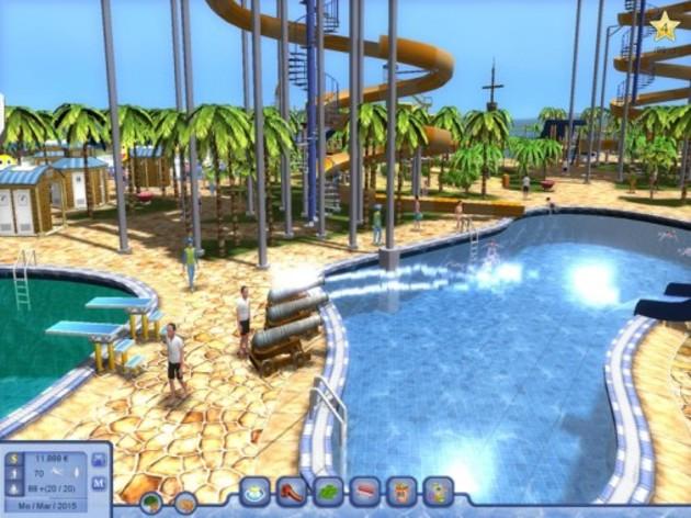 Screenshot 5 - Waterpark Tycoon