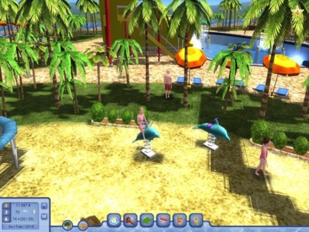 Screenshot 6 - Waterpark Tycoon