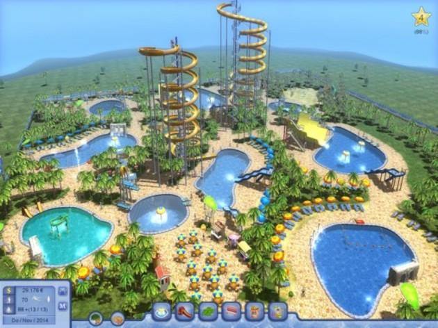 Screenshot 3 - Waterpark Tycoon