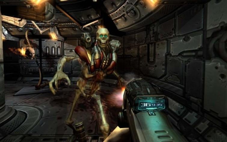 Screenshot 1 - Doom 3 (MAC)