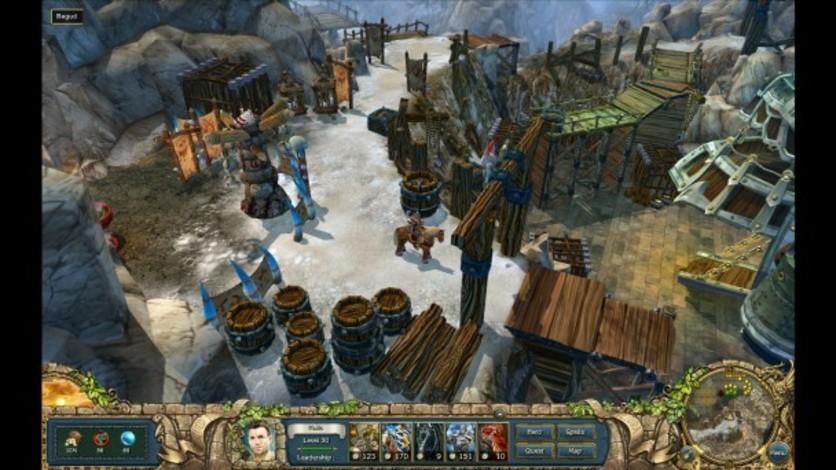 Screenshot 4 - King's Bounty: The Legend