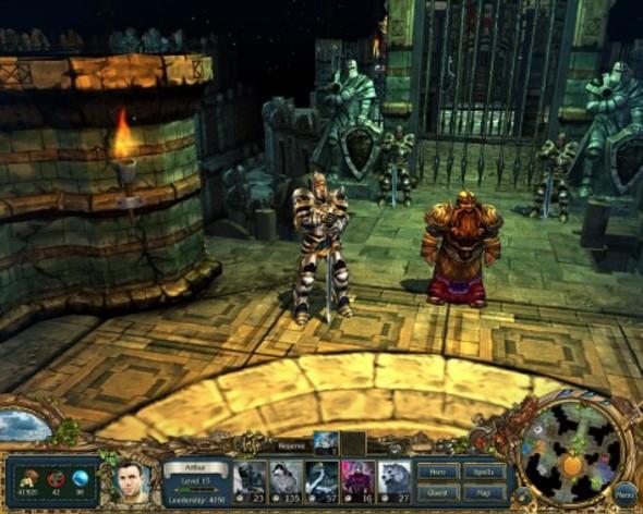 Screenshot 4 - King's Bounty: Crossworlds