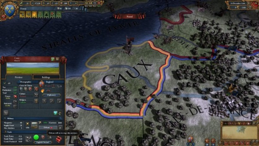Screenshot 10 - Europa Universalis IV: Art of War
