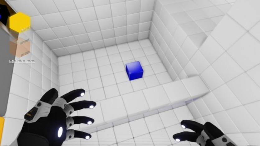 Screenshot 1 - Q.U.B.E. - Against The Qlock