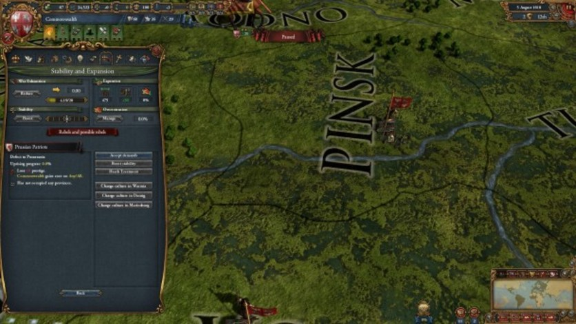 Screenshot 8 - Europa Universalis IV: Guns, Drums and Steel Music Pack