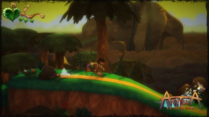 Screenshot 5 - Aritana e a Pena da Harpia