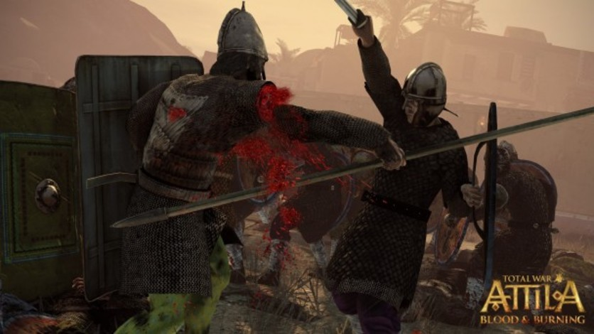 Screenshot 1 - Total War: ATTILA - Blood and Burning Pack