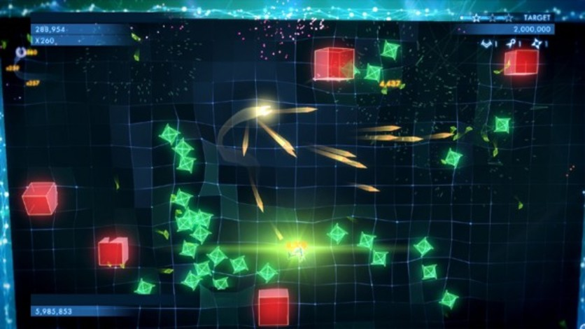 Screenshot 2 - Geometry Wars 3: Dimensions (MAC)