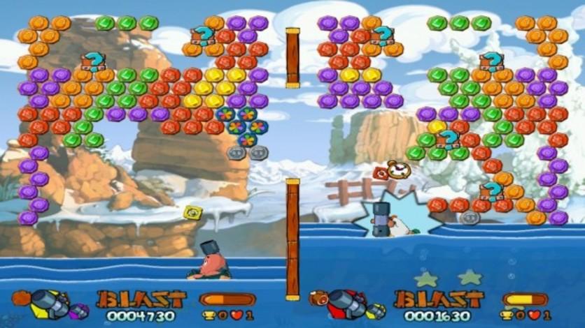 Screenshot 1 - Worms Blast