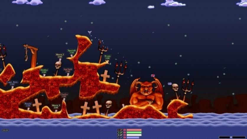 Screenshot 1 - Worms Armageddon