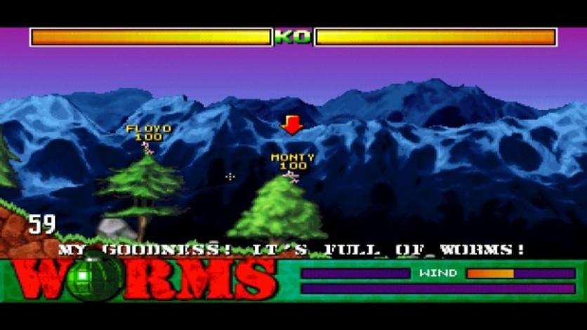 Screenshot 1 - Worms