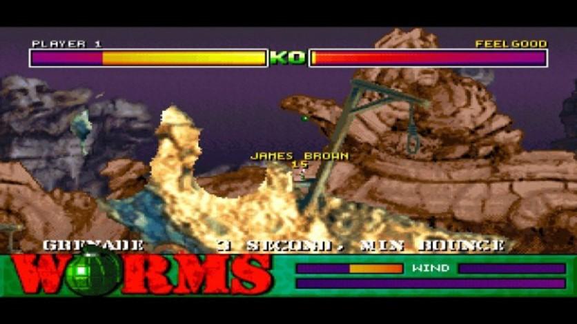 Screenshot 4 - Worms