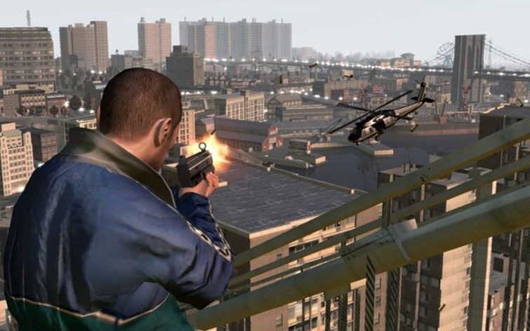 Screenshot 4 - Grand Theft Auto IV