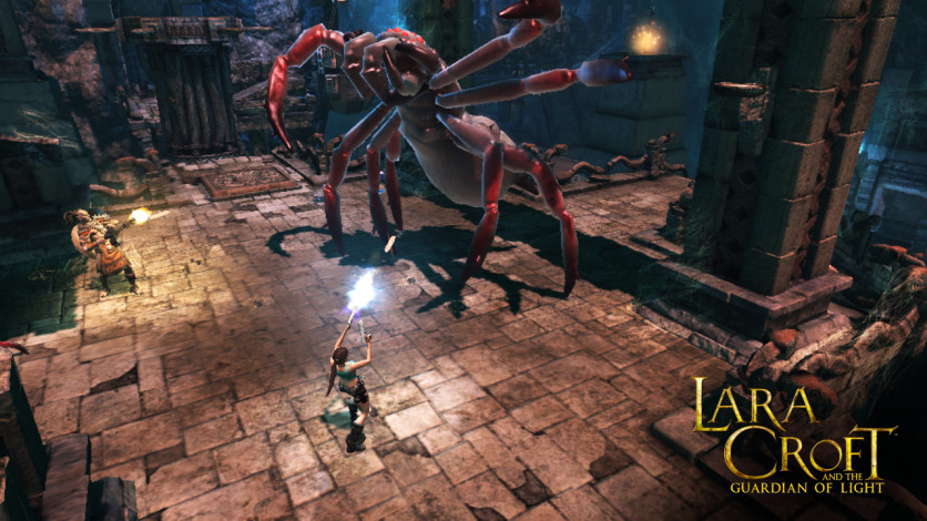 Screenshot 1 - Lara Croft GoL: All the Trappings - Challenge Pack 1